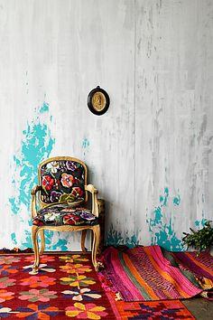 Grafton Chair, Flora Dora - Anthropologie// Home creative1