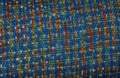 Boucle+blau+von+stoffmotte+auf+DaWanda.com