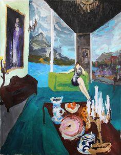 Bradley Wood   artsy forager #art #artists #paintings
