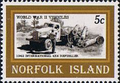 Norfolk Island 1995 Second World War Vehicles Fine Mint SG 596 Scott 581 Other European and British Commonwealth Stamps HERE!