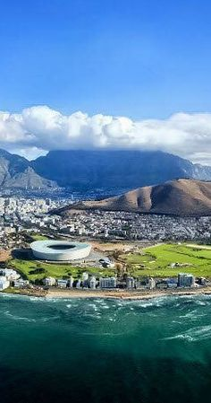 View of Justin Bieber's- Purpose The Movement Tour venue in Cape Town, South Africa Oh The Places You'll Go, Places To Travel, Places To Visit, Pretoria, Zimbabwe, South Afrika, Cap Vert, Le Cap, Cape Town South Africa