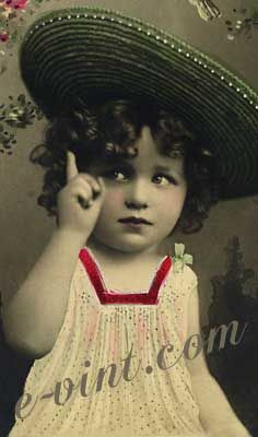 of Vintage Children to Download from E-vint.com Everything Vintage ...