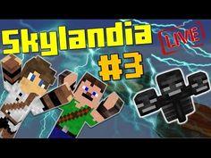 [ÉLŐ] Gyere WITHER Ha Mersz!!! Minecraft SkylanDIA UborCrafttal #3