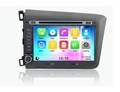 "8"" Autoradio DVD GPS Honda CIVIC 2012 avec Bluetooth et GPS Tuner TV"