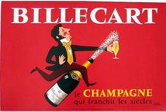 Billecart Champagne Poster on OneKingsLane.com