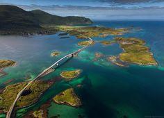 A estonteante beleza das paisagens naturais da Noruega
