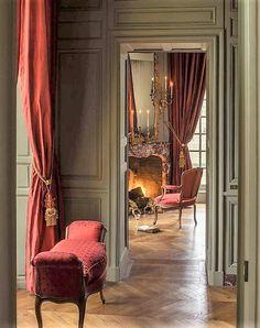 French Interior, Classic Interior, French Decor, Interior Decorating, Interior Design, Traditional Interior, Traditional Design, Country Decor, Interior Inspiration