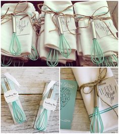 """Something Blue"" Kitchen Whisk practical bridal shower favors l Favor Couture - Sally Wilson Shops http://favorcouture.theaspenshops.com/something-blue-kitchen-whisk.html #somethingblue #kitchenwhisk #bridalshowerfavors #practicalfavors #kitchenthemebridalshower"