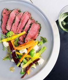 Australian Gourmet Traveller recipe for Venison Carpaccio with pickled…