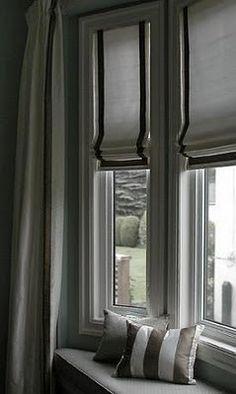 Window treatment & window seat