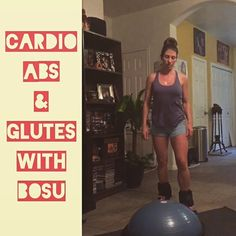 #cardio abs and glutes #bosu circuit from Body Compass Discovery