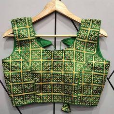 Kutch Work, Trendy Sarees, Stylish Blouse Design, Indian Bridal Outfits, Indian Blouse, Blouse Designs, Design Trends, Cute Girls, Ready To Wear