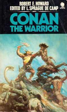 1973.    Cover painting by Frank Frazetta.