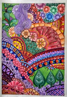 Joan Bosotina Colorest In Angela Porters Designer Doodles