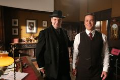 Another former Downton Abbey cast member will guest star on Canada's Murdoch Mysteries. Samantha Bond played Lady Rosamund on the popular British period drama. Australian Actors, British Actors, Samantha Bond, Murdock Mysteries, Downton Abbey Cast, Cast Member, Period Dramas, Blue Jeans, Mystery