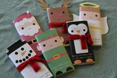 I want to wrap candy bars like this for teacher gifts this year :o)