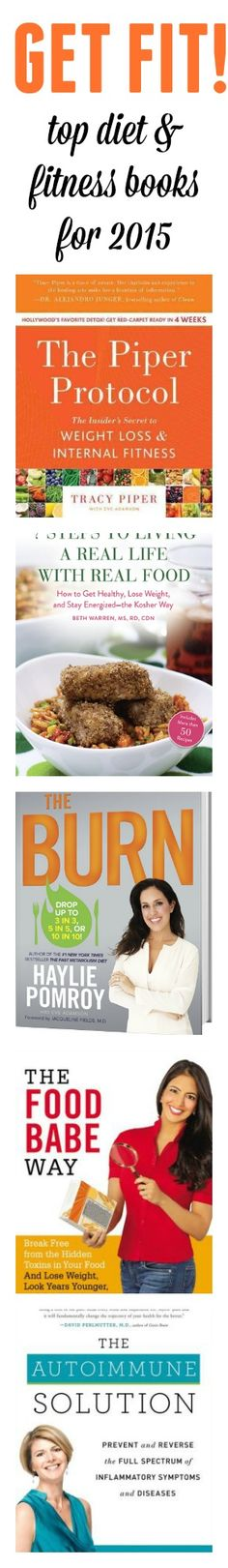 Favorite diet and health books for 2015. These five picks cover a wide range of topics for various needs including weight loss and nutrition. The following selections are available online or at your favorite book retailer. Also, don't forget to check for these titles at your local library branch.