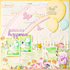 "This is my sample for my kit using Webster's Pages ""Sunday Picnic"""