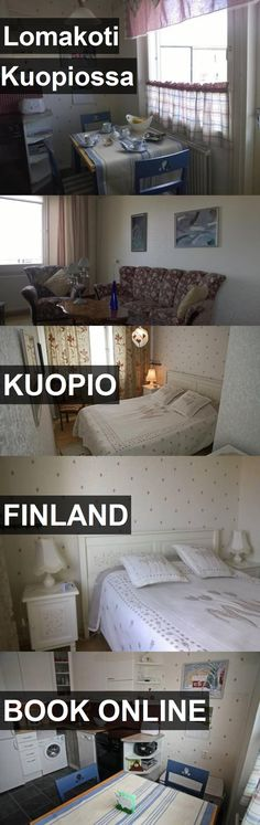 Hotel Lomakoti Kuopiossa in Kuopio, Finland. For more information, photos, reviews and best prices please follow the link. #Finland #Kuopio #travel #vacation #hotel