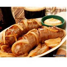 Beer-Basted Sausage  -makanan utama sarapan ini, walhaaaaaaaaaaaaaaa-