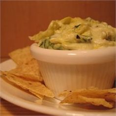 Spinach Dip. Sometimes I do the leek soup mix and sometimes the ...