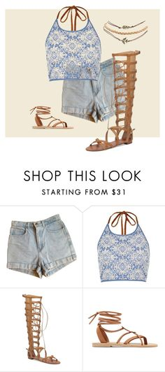 """""""brown"""" by vukovic-xo ❤ liked on Polyvore featuring American Apparel, River Island, Vince Camuto, Valia Gabriel and Wet Seal"""