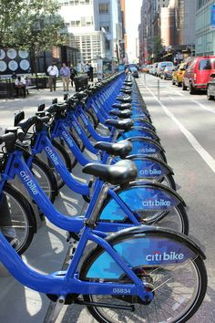 Citibike - get a 3 day pass. The bikes are everywhere.