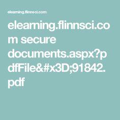 elearning.flinnsci.com secure documents.aspx?pdfFile=91842.pdf