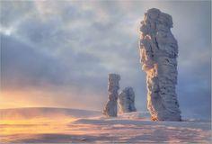 The seven rocks in Komi republic