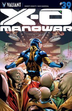 X-O Manowar #39 Cover A by Rafa Sandoval