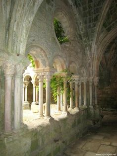 Beautiful Architecture, Art And Architecture, Architecture Details, Abandoned Buildings, Abandoned Places, Narbonne France, Beautiful World, Beautiful Places, Outdoor Pergola