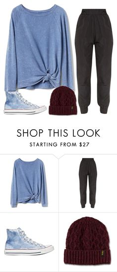 """""""friday"""" by adele-adik ❤ liked on Polyvore featuring Gap, Converse and Dr. Martens"""