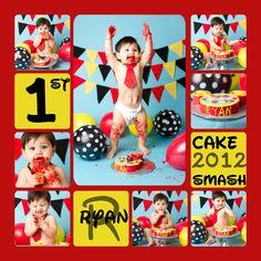 Mickey Mouse Cake Smash  www.facebook.com/kapturedmemories
