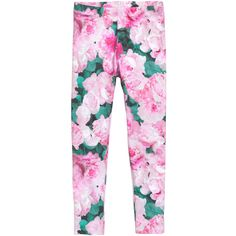 Welcome to H&M, your shopping destination for fashion online. Floral Leggings, Pink Leggings, Leggings Are Not Pants, Elastic Waist Pants, Pink Pants, H&m Online, Fashion Online, Kids Fashion, Pajama Pants