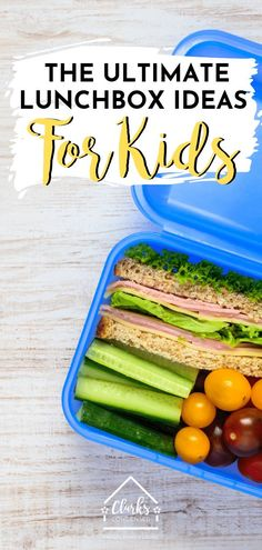 Need some great school lunch ideas for school? Here is the ultimate list of ideas, hacks, and more to make your school year go much more smoothly! Kids