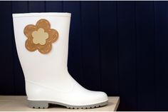 Hand crafted Gumboots created in the heart of Stellenbosch.The lovely designs are available in ladies' sizes 3 - Flower Power, Rubber Rain Boots, Lady, Spring, Pretty, Flowers, Crafts, Stuff To Buy, Design
