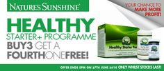HSP Programme - June offer 10% off: http://chumak.solstic.eu.nspshop.com/hsp_programme_-_june_offer_10_off.htm The Healthy Starter Programme combines #Healthy Starter Pack+ with #LiquidChlorophyll and Probiotic Eleven to make a synergistic and powerful cleansing programme designed to #Cleanse, Refresh  Rehydrate, Replenish  Restore. #chumak #HealthyEating #WeightManagement #EnergyFitness