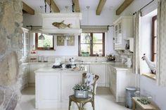 Атмосфера размеренной деревенской жизни в стиле оформления кухни: простота и…