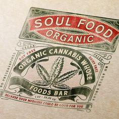 Cannabis branding: 42 chronic weed logos and marijuana packaging ideas - Fruit Packaging, Brand Packaging, Packaging Design, Packaging Ideas, Logos, Web Design, Weed Art, Farm Logo, Logo Food