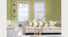 "the shade store cellular blinds 3/4"" single cell in ivory"