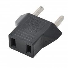 Minismile Universal EU Plug Socket to US Socket Power Adapter / Charger