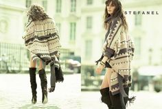 Daria Werbowy for STEFANEL Fall Winter 2011 | Spotted Fashion