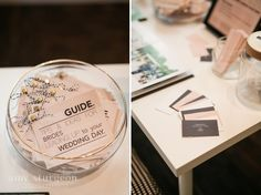 Handouts for brides at a bridal show. They were a hit at my wedding show booth this season | Ottawa wedding photographer | Amy Sturgeon Photography