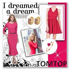"""""""TOMTOP +16"""" by hetkateta ❤ liked on Polyvore featuring tomtop and tomtopstyle"""