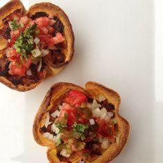 Tortilla and turkey pies / Pies de tortilla y pavo #glutenfree #lowfat #gastroglam