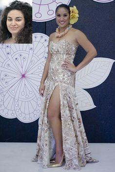 Sina Thomsen :) Gorgeous Tapa strapless dress <3