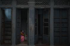 The Secret (Udaipur #Rajasthan #India) #asia #color #dark #door #elderly #house #india #landlady #light #people #portrait #rajasthan #room #sari #shadow #street #travel #udaipur #woman #photo #photography #fliiby #images #yyazilim #people #nature