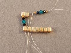 Crystal and Cube Bead Cuff Bracelet Queen of the Nile Swarovski Crystal Bracelet Free Beading Pattern: Continue Adding Sets of Beads. Beading Patterns Free, Beaded Jewelry Patterns, Bracelet Patterns, Weaving Patterns, Beaded Cuff Bracelet, Crystal Bracelets, Cuff Bracelets, Jewelry Crafts, Handmade Jewelry