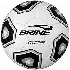 Brine Evolution Soccer Ball (Black, 5) by Brine. $21.29. Great for match and training play. COVER: 32 panels of hand-stitched, soft durable PU. BLADDER: Air-Lock C-2 for pressure dispersion and air retention. Imported. Note: All of our balls are shipped deflated. This helps in keeping our shipping costs low, savings that we can pass on to you.