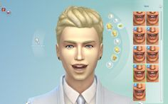 I have created 6 new imperfect teeth for the sims 4. These add a variety of styles some with the bottom row being imperfect and others with the top row being imperfect